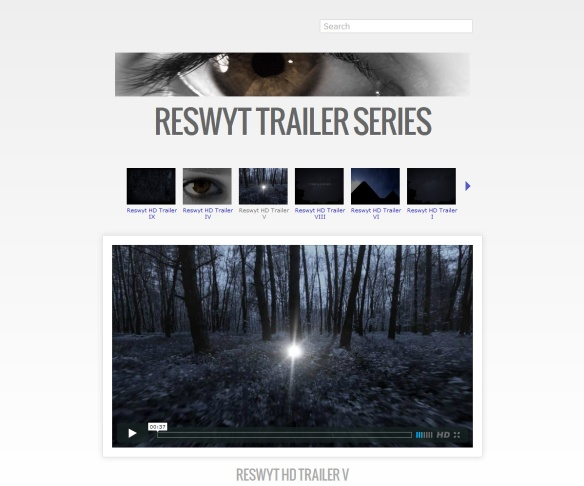 There are, however, nicely presented video trailers for the book, ...